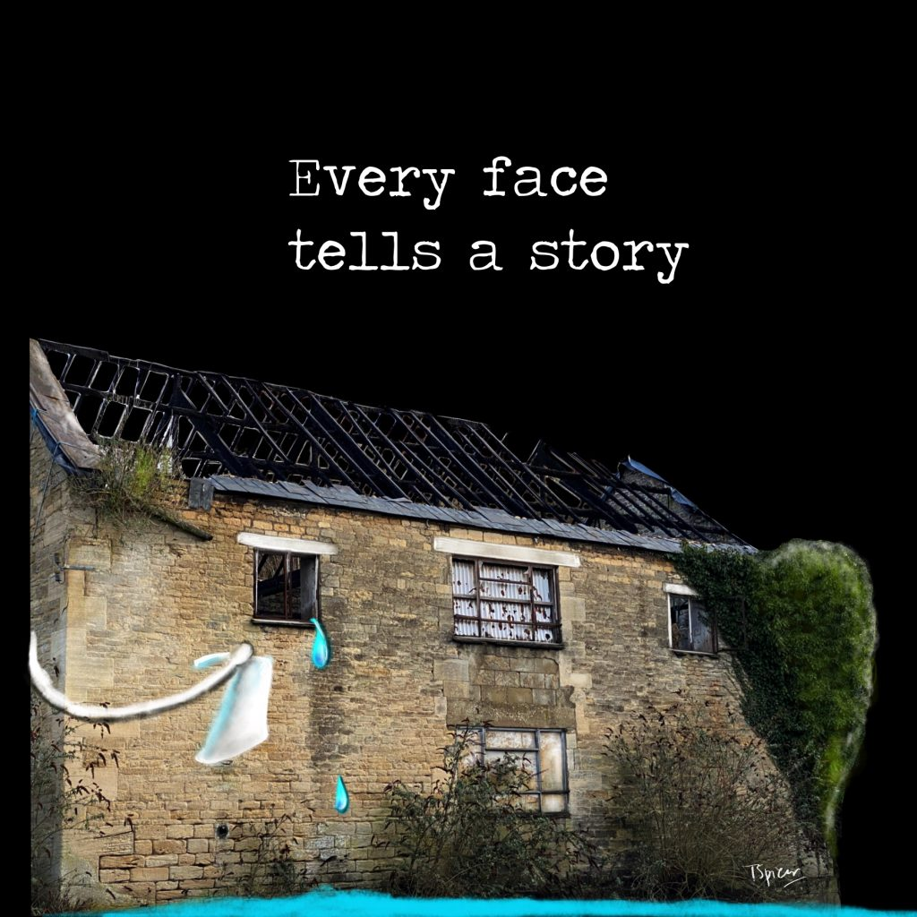 Every face has a story